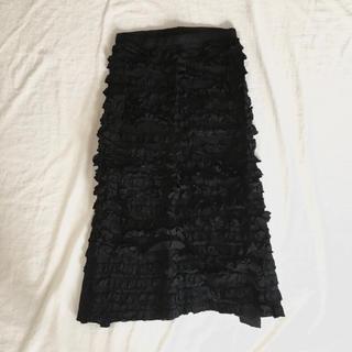 COMME des GARCONS - tricot COMME des GARCONS ロングスカート