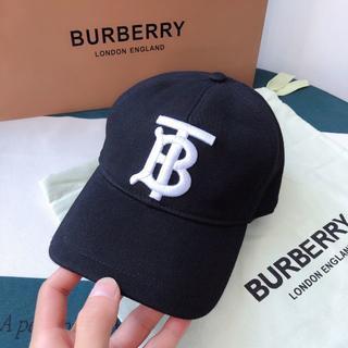 BURBERRY - 【BURBERRY】 モノグラムモチーフ ベースボールキャップ