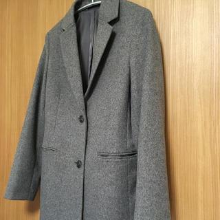 UNIQLO - ユニクロ 美品 ウールカシミヤ  チェスターコート