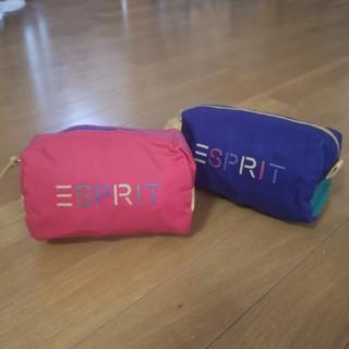 エスプリ(Esprit)のESPRIT ビッグバッグ(収納ケースバッグ付き)(エコバッグ)