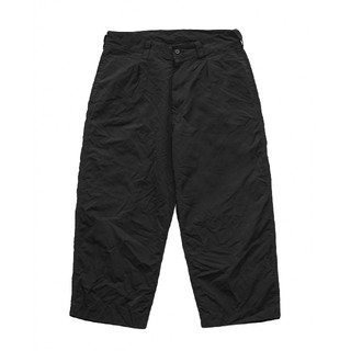 COMOLI - Porter Classic WEATHER PANTS 2019 BLACK