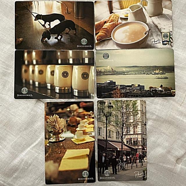 Starbucks Coffee(スターバックスコーヒー)のスターバックスコーヒー ポストカード エンタメ/ホビーのコレクション(ノベルティグッズ)の商品写真