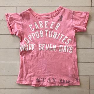 ゴートゥーハリウッド(GO TO HOLLYWOOD)のゴートゥーハリウッド 半袖 110 デニム&ダンガリー fith Tシャツ(Tシャツ/カットソー)