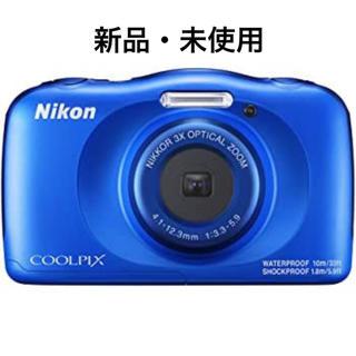 ニコン(Nikon)の[ニコン]COOLPIX W150 [ブルー](コンパクトデジタルカメラ)
