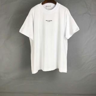 ACNE - ACNE STUDIOS 2020SS Tシャツ 白
