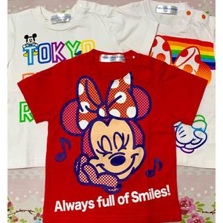ディズニー(Disney)のDisney resort★3枚used★(Tシャツ)