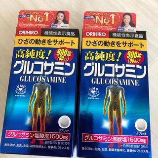 オリヒロ(ORIHIRO)のオリヒロ★高純度グルコサミン900粒✖️2個(その他)