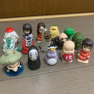 ジブリ 千と千尋の神隠し 指人形(キャラクターグッズ)