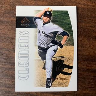 【送料込】クレメンス投手のSP-authentic2002#38野球カード!(シングルカード)