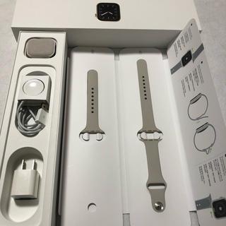 アップルウォッチ(Apple Watch)のApple Watch Series 5(GPS + Cellularモデル)(腕時計(デジタル))