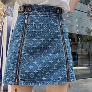 ルイヴィトン 現行モデル ミニスカート