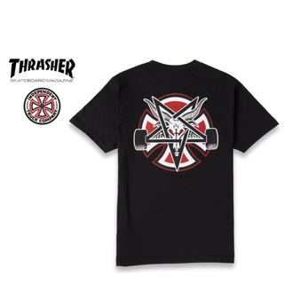 インディペンデント(INDEPENDENT)のINDEPENDENT THRASHER Tシャツ ブラック Mサイズ 新品(Tシャツ/カットソー(半袖/袖なし))