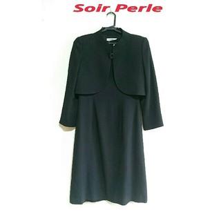 SOIR - Soir Perle ソワールペルル・フォーマル ワンピーススーツ セット