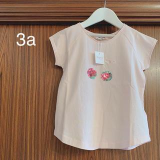 Bonpoint - ボンポワン 20SS スパンコールTシャツ 3a