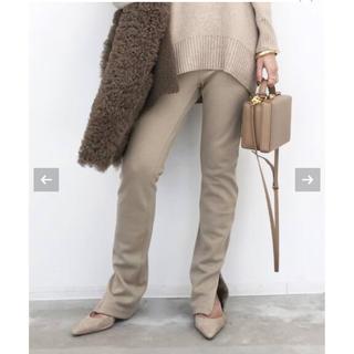 L'Appartement DEUXIEME CLASSE - アパルトモン♡ Wool Zip Leggings