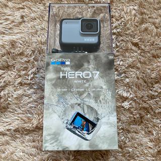 ゴープロ(GoPro)のGoPro HERO7 WHITE 新品未使用(ビデオカメラ)