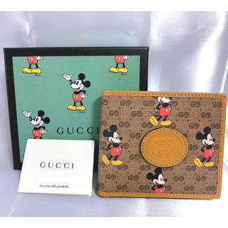 Gucci - GUCCI グッチ ディズニー ミッキー コラボ 財布 未使用品
