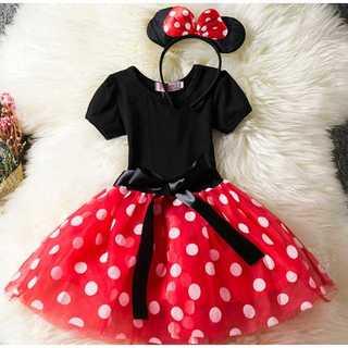 【80size】ミニー ワンピース ハロウィン 子供  ディズニープリンセス(セレモニードレス/スーツ)