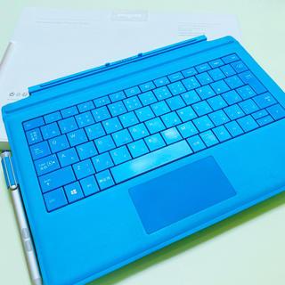 Microsoft - マイクロソフト 【純正】 Surface Pro用 タイプカバー ブルー ペン付