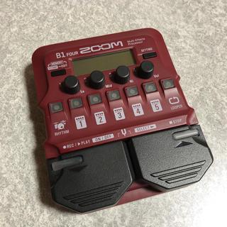 ズーム(Zoom)のZOOM B1 FOUR ベース用マルチエフェクター(ベースエフェクター)