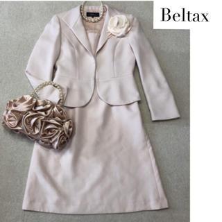 【LL】13号 Beltax ツイードスーツ ピンク 入学式 七五三など