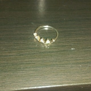ピンクゴールドリング10号(リング(指輪))