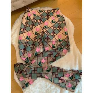 PAMEO POSE - kloset チューリップ刺繍パンツ セットアップ