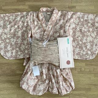 フタフタ(futafuta)のテータテート 浴衣 95(甚平/浴衣)