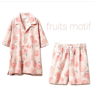 gelato pique - 新品☆フルーツモチーフシャツ&ハーフパンツ