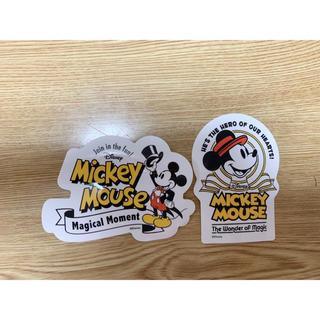 ディズニー(Disney)のミッキー ステッカー(シール)