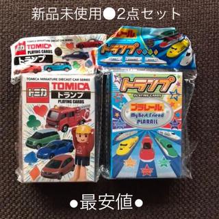 タカラトミー(Takara Tomy)の新品未使用●トミカ&プラレール トランプセット(トランプ/UNO)