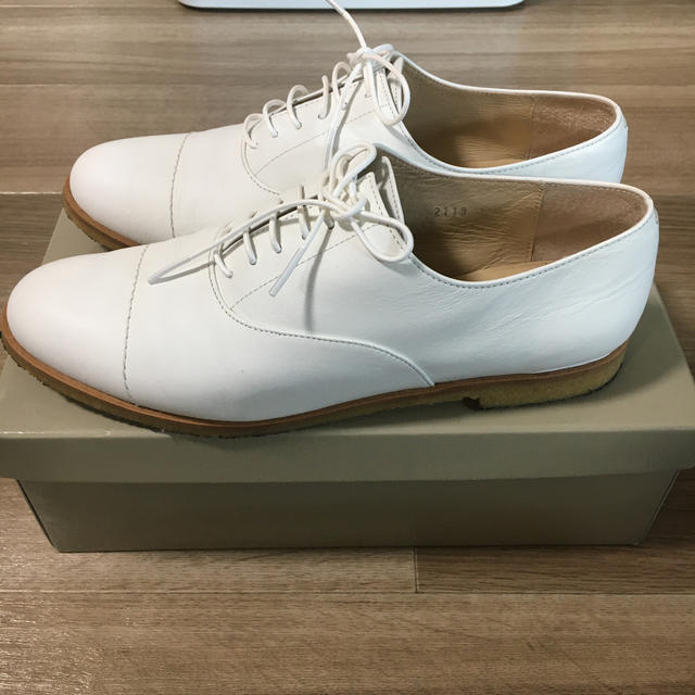 MARGARET HOWELL(マーガレットハウエル)のほぼ未使用✨マーガレットハウエル レースアップシューズ レディースの靴/シューズ(ローファー/革靴)の商品写真