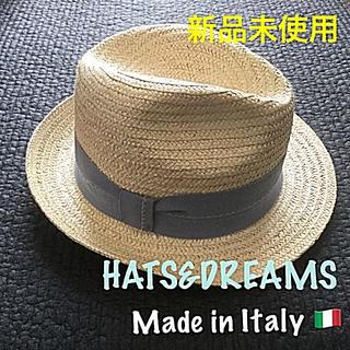 ローズバッド(ROSE BUD)のmama 様専用❣️新品未使用★HATS&DREAMS 中折帽子 イタリア製(ハット)