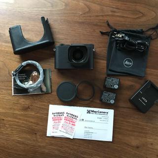ライカ(LEICA)の週末限定値下げ Leica q-p 美品 豪華セット(コンパクトデジタルカメラ)