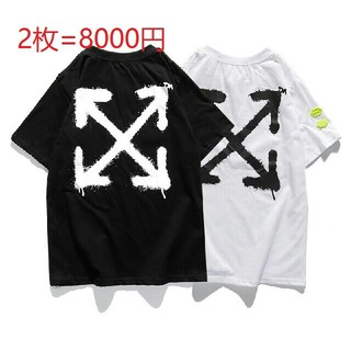 OFF-WHITE - off-white Tシャツ 2枚 OW5788D-S1