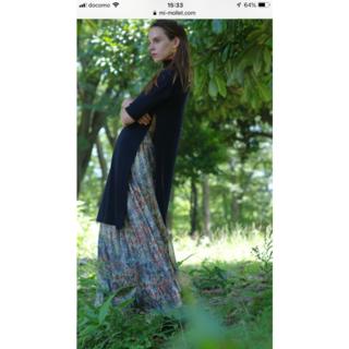 シェル(Cher)のMES DEMOISELLES 花柄 ロングスカート(ロングスカート)