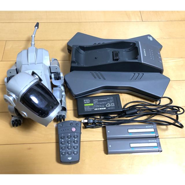 SONY(ソニー)のソニー製 AIBO ERS-111 ジャンク エンタメ/ホビーのおもちゃ/ぬいぐるみ(その他)の商品写真