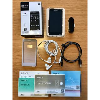 SONY - 【美品】SONY ウォークマン Fシリーズ 16GB NW-F885 ホワイト