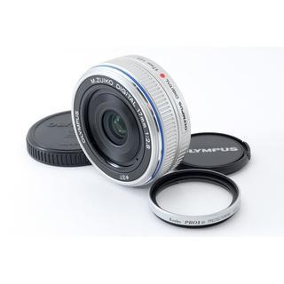 ☆使用感少なめ『パンケーキ』単焦点☆オリンパス M.Zuiko 17mm 2.8(レンズ(単焦点))