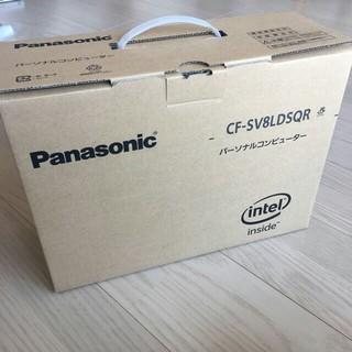 Panasonic - 【新品未使用】Let's note SV8  CF-SV8LDSQR
