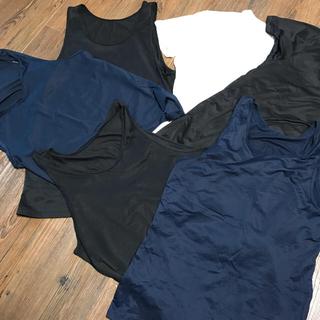 ユニクロ(UNIQLO)のエアリズム タンクトップ4枚 半袖2枚 ノースリーブ3枚 Sサイズ セット売り(タンクトップ)