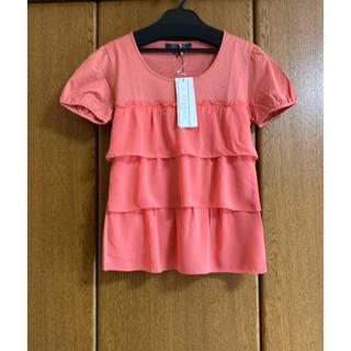 エムズグレイシー(M'S GRACY)の新品未使用 VERRIER ヴェリエ シフォン フリル Tシャツ カットソー(Tシャツ(半袖/袖なし))