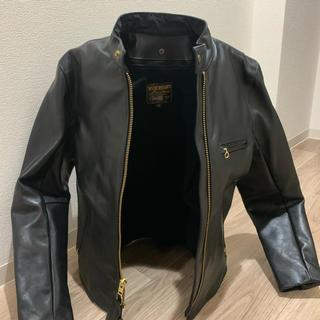 バンソン(VANSON)の★新品VANSON レザージャケット シングルライダース バンソン B(ライダースジャケット)