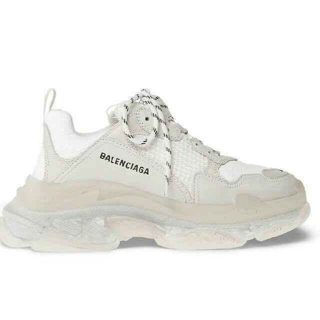 BALENCIAGA triple s 36 clear soleの