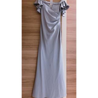 ビーシービージーマックスアズリア(BCBGMAXAZRIA)のオフショルダーロングドレス(ロングドレス)