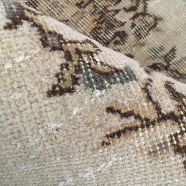 IDEE(イデー)のヴィンテージ ラグ 絨毯マット キリム モロッコ  インテリア/住まい/日用品のラグ/カーペット/マット(玄関マット)の商品写真