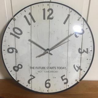 【新品・送料無料】アメリカン アンティーク調 壁掛け時計 静かなスイープ秒針(掛時計/柱時計)