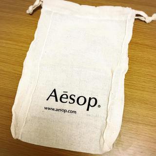 イソップ(Aesop)のAesop 巾着袋 ショップ袋(ショップ袋)