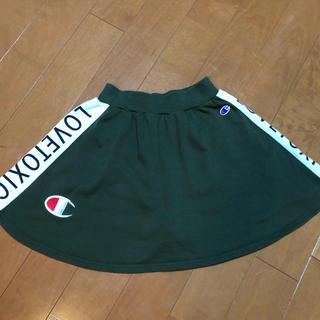 ラブトキシック(lovetoxic)のラブトキ&チャンピオン スカートパンツ 150cm(パンツ/スパッツ)
