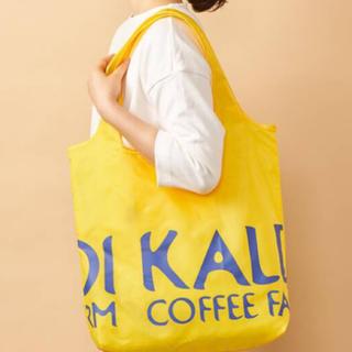KALDI - カルディ  オリジナル エコバッグ イエロー